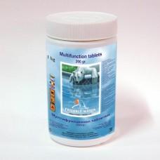 Хим. препарат за дезинфекция мултифункционални таблетки за басейн х 200г  1кг