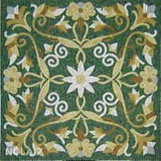"""Стъклокерамична мозайка """"Килим с цвете"""" - 150х150см."""