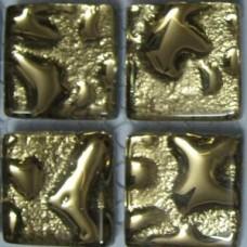 Стъклокерамика Lyrette Gold, 20x20x4 мм