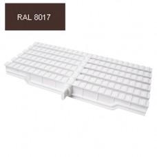 Решетка Friendly Water за външен преливник 245мм 1вр. RAL 8017
