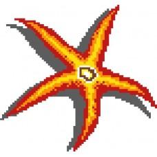 Стъклокерамична фигура stella marina 2 , 165х165см, 2.72м2