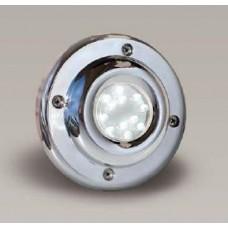 Фасонна част прожектор диоден мини 12 LED, 1.2W12V, Inox
