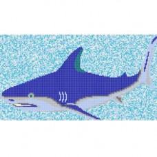 """Стъклокерамична фигура """"Акула"""", 198х363см., 5.64кв.м."""