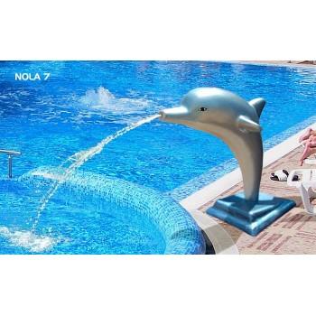 Фигура делфин от стъклопласт