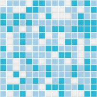 Lyrette glass mosaic mix Miscela Azzura