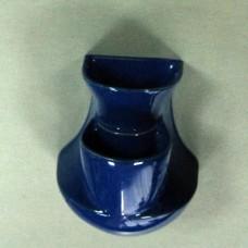 Делва за аромати, синя, ръчна изработка