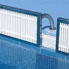 Панел за обръщане с решетка за олимпийски басейн 2.5м