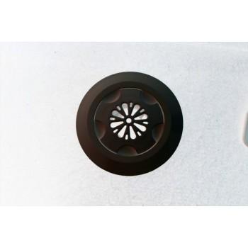 Дюза бетон вливна ф45 за лепене,черна отвор цвете