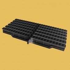 Решетка Friendly Water за външен преливник 245мм 1вр. черна RAL9005