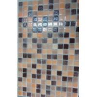 Мозайка стъклена микс Карамел 2.5 х 2.5 см