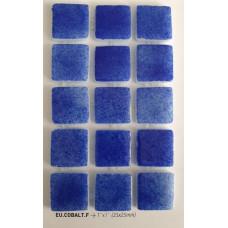 Мозайка стъклена Кобалт 2.5 х 2.5 см