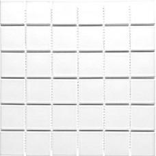 Плочка порцеланова Бяла 5 х 5 см