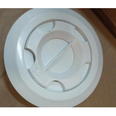 Дюза за бетон вакуумна Ф57 за несъосно лепене в тръба Ф63 х 3 мм, бял ABS