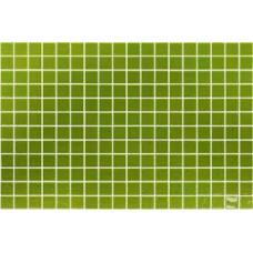 Мозайка стъклена зелена, Lisa 2.5x2.5 cm