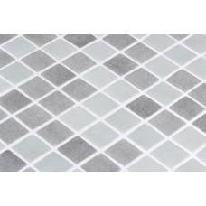 Мозайка стъклена, микс сив Majestic Grey 2.5x2.5 cm