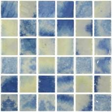 Мозайка стъклена микс Bluestone 2.5x2.5см