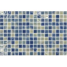 Мозайка стъклена, микс Bluestone 2.5x2.5 cm
