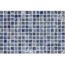 Мозайка стъклена, микс Tourmaline 2.5x2.5 cm