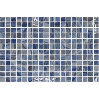 Мозайка стъклена микс Tourmaline 2.5x2.5см