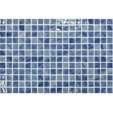 Мозайка стъклена микс Blue Macauba 2.5x2.5см