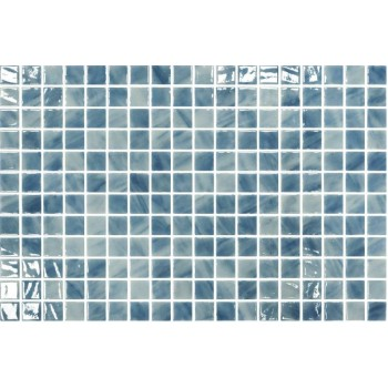 Мозайка стъклена микс Paraiba 2.5x2.5см