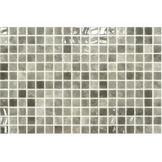 Мозайка стъклена, микс сив Quartz 2.5x2.5 cm