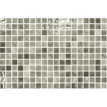 Мозайка стъклена сив микс Quartz 2.5x2.5см