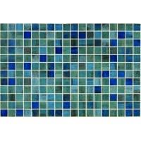 Мозайка стъклена микс Blue Forest 2.5x2.5см