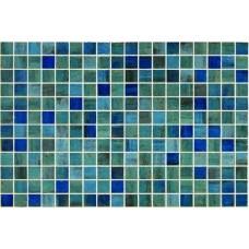 Стъклена мозайка микс Blue Forest 2.5x2.5
