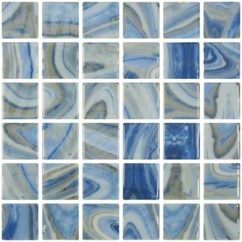 Мозайка стъклена микс Penta Tourmaline 5x5см