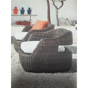 Кресло дизайнерско EDEN без възглавници