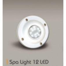 Прожектор диоден мини 24 LED, 5W12V, ABS бял
