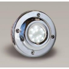Прожектор за басейн диоден мини 24 LED, 5W12V, Inox