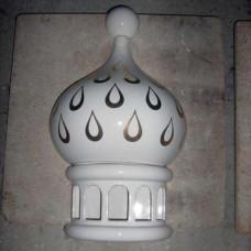 Туч половинка декоративен керамичен