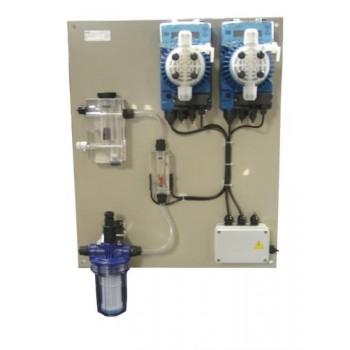 Система дозаторна за басейни от 300 м3 до 1200 м3 за рН и хлор, Kontrol