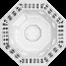 Хидромасажна вана Octavia с преливник, 226x226 см, h= 102 см