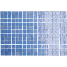 Мозайка стъклена синя, Nieve Azul Cielo 2.5x2.5 cm