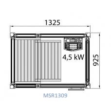 Сауна Tylo Impression, модулна, 1325x925х2090 mm, 4.5 kW