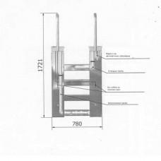 Моноблок стълба, двускоростен 20/50 m³/h, метален