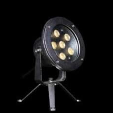 Прожектор диоден мини  LED, 6x3W 24V, бял