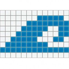 Стъклокерамичен фриз А-Ц Н=19.8