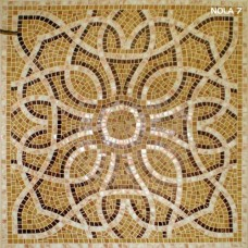 """Стъклокерамична мозайка """"Ален мак"""" - 110х110см"""