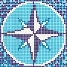 Стъклокерамична фигура звезда 93, 1,07х1,07м, 1,14м2