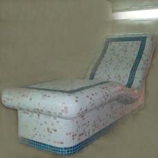 Легло за почивка шпакловано без кабел нагревателен и терморегулатор