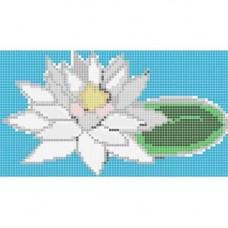 Стъклокерамична фигура лилия 198x112см