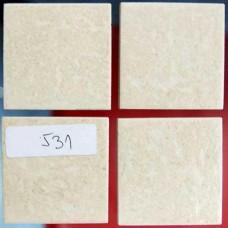 Плочки керамика кремави, 45 х 45 мм, за под