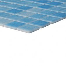 Мозайка стъклена синя, Nieve Azul Celeste 2.5x2.5 cm