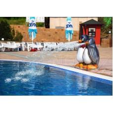 Фигура пингвини от стъклопласт