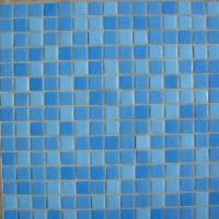 Lyrette glass mosaic mix Miscela Blu