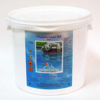Хим. Флашхлор 56 гранули Friendly Water, 5 кг (бърз хлор)